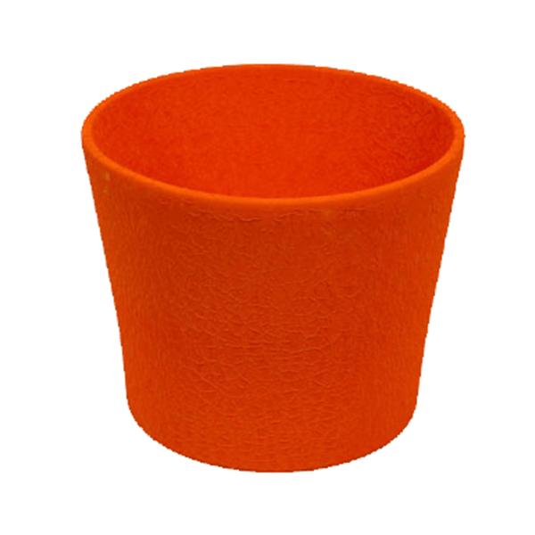 Květináč Twister L – oranžový