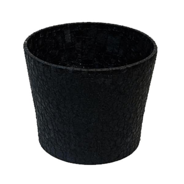 Květináč Twister L – černý